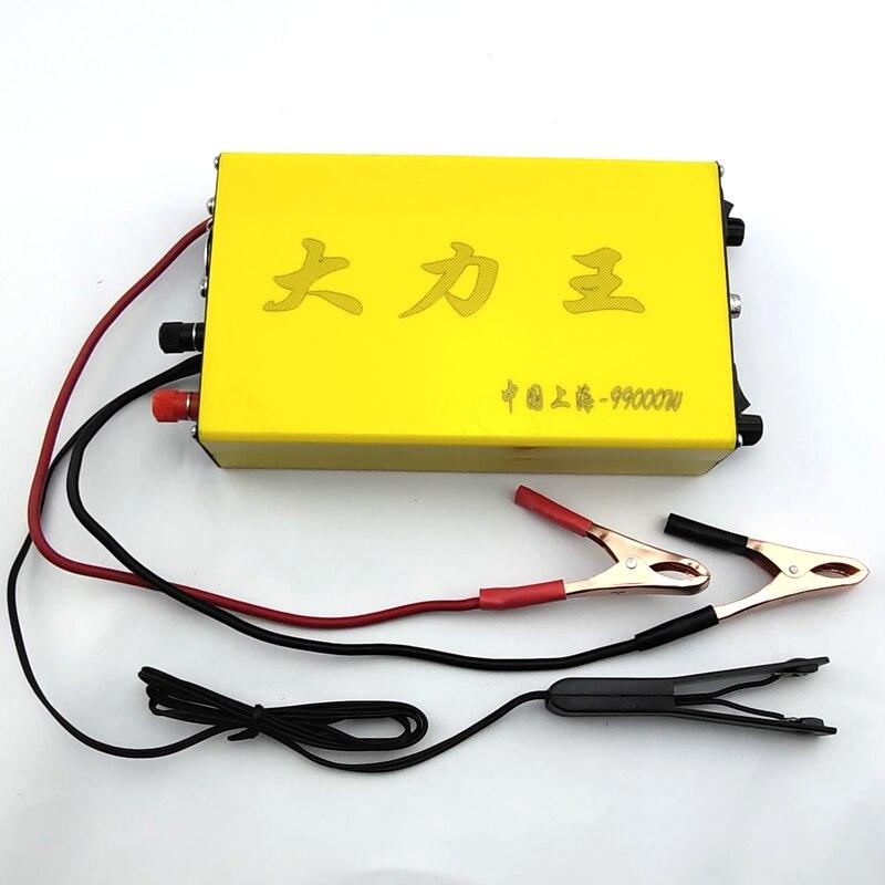 powerful99000w transformador hibrido conversor conversor de passo para cima montagem economia de energia impulsionador conversor