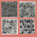Полимерная глина текстура штамп листы инструменты поставки наборы сделай сам тиснение Облако Цветок поток воды Мандала шаблон индивидуаль...