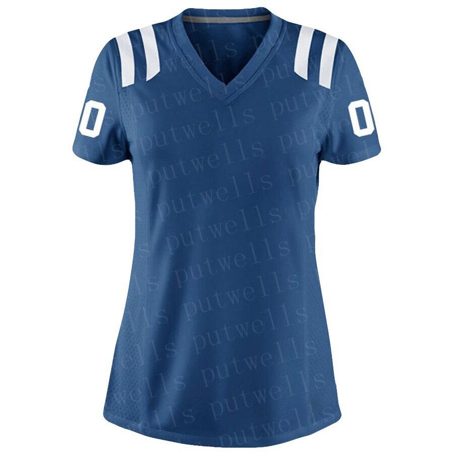 2019 Womens American Football Indianapolis Fans Wear Jacoby Brissett Darius Leonard Quenton Nelson Marlon MacK Hooker Jerseys