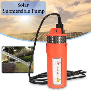 Efficient DC 24V Lift=70m Deep Well Submersible Pump For Solar Energy Panels Small/Mini Electric Water Transfer 24 Volt