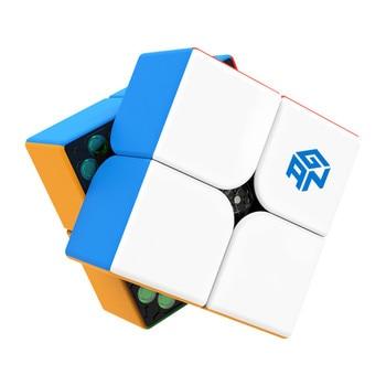 GAN251M Magnetic 2x2x2 Magic Cube GAN251 M 2x2 Speed GAN 251 puzzle  Gan 251M Educational Toys - discount item  43% OFF Games And Puzzles