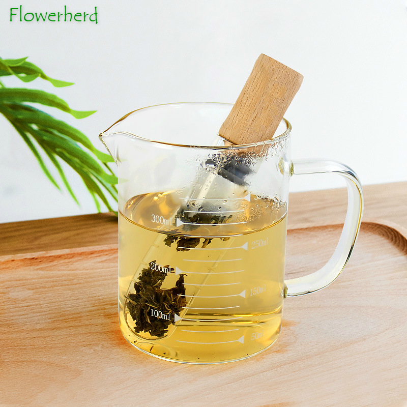 Reusable Glass Tea Infuser Creative Pipe Design Tea Strainer For Mug Fancy Filter For Puer Tea Herb Tea Tools Tea Cup Strainer