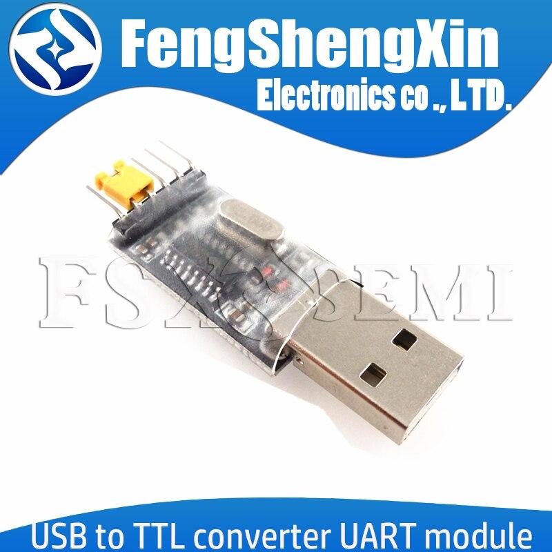 Преобразователь USB в TTL, Модуль UART CH340G CH340, переключатель 3,3 В, 5 В, одночиповая линия для загрузки