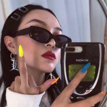 Модные маленькие квадратные солнцезащитные очки kammpt для женщин/мужчин