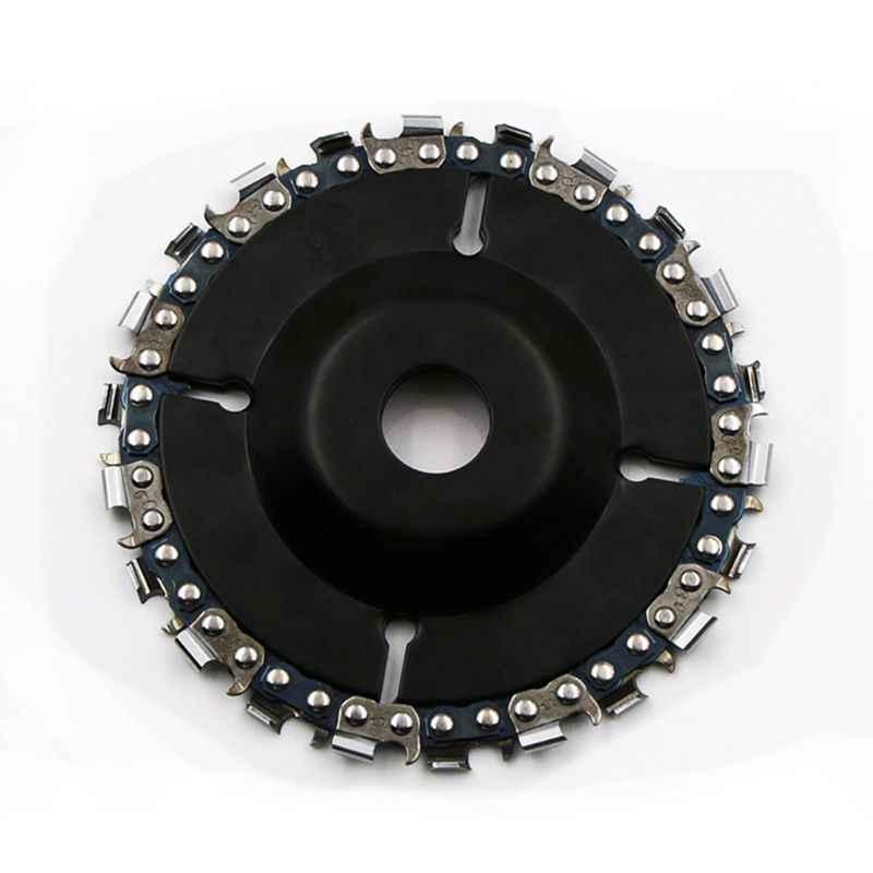 角度研削ディスクチェーン鋸刃 4 インチ 14 歯仕上げ切削彫刻 sharping 木材プラスチック硬質ゴム