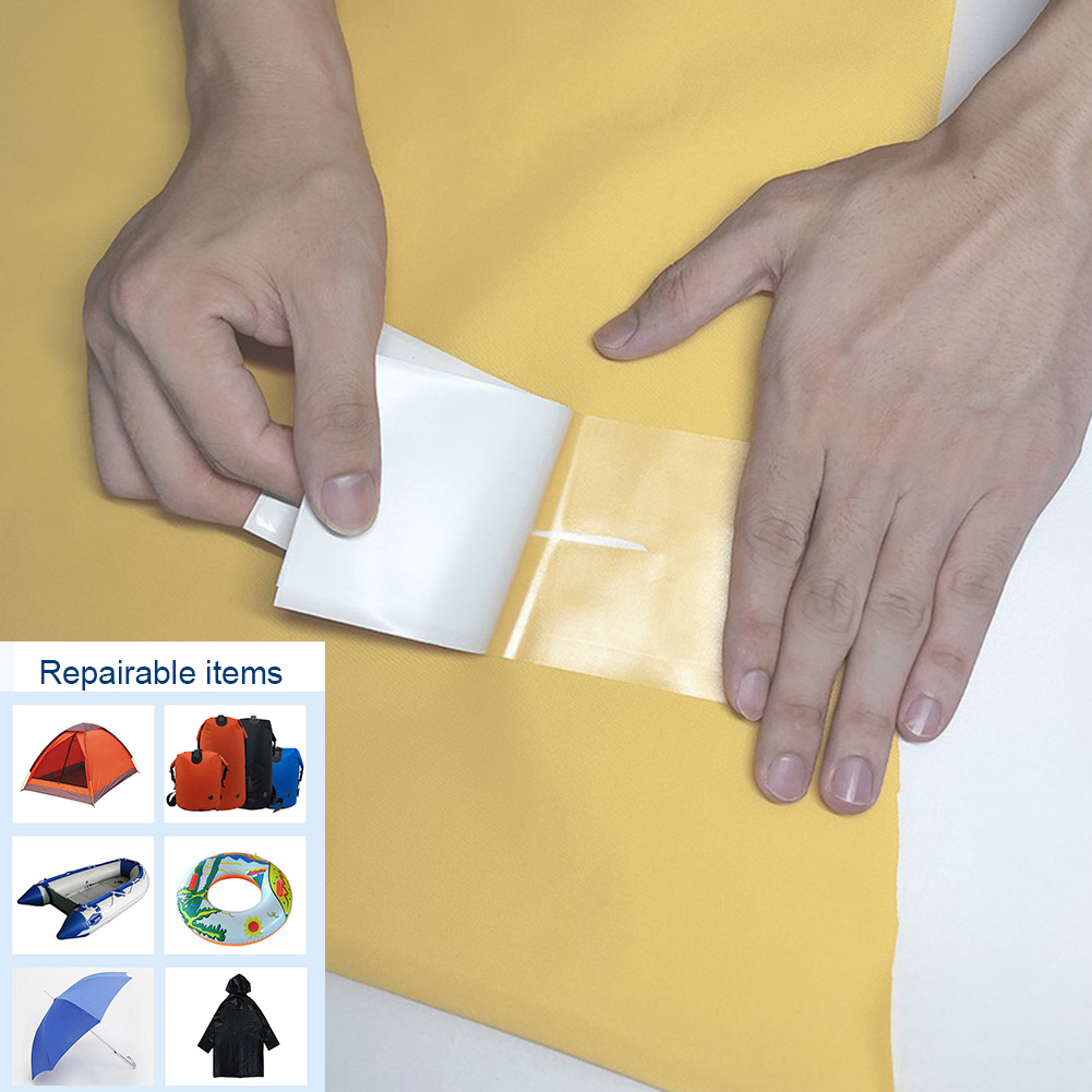 Transparent Repair Tape Self Adhesive Portable Cloth Patch Easy Apply Camping Tent TPU Waterproof Outdoor Inflatable Boats
