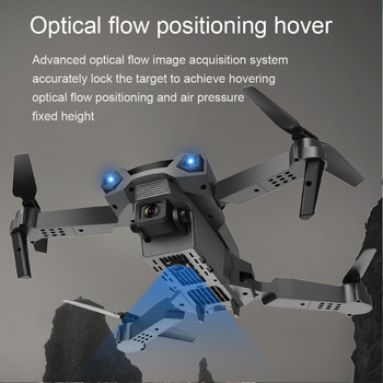 Teeggi P5 Mini Drone with HD 4K Dual Camera Professional Aerial Photography Infrared Obstacle Avoidance Quadcopter RC Helicopter 3