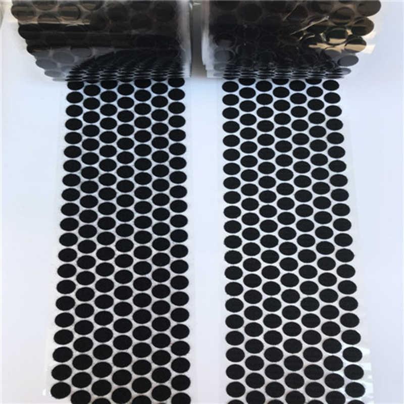 10 мм 200 пар клея на крючки и петли Волшебная наклейка прочный самоклеящийся нейлоновый водонепроницаемый клейкая крепежная лента для домашнего использования