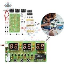 diymore C51 AT89C2051 6 Bit Digital Electronic Clock Suite DIY Kits Ele