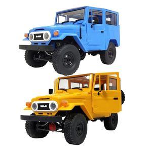Hobbylan WPL C34KM 1/16 Металлический Набор 4WD 2,4G Buggy Crawler внедорожный RC автомобиль 2CH модели автомобилей с головным светильник