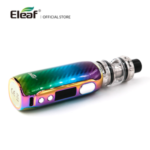 Image 5 - [FR] Original Eleaf iStick Rim C With 4ml MELO 5 Kit Output 80W Wattage EC M/EC S Coil By Type C Cable Electronic Cigarette