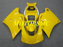 Top-Rated Injection Mold Fairing Kit for 748 916 03 04 05 996 998 2003 2004 2005 ABS Yellow Bodywork+Gifts DB31