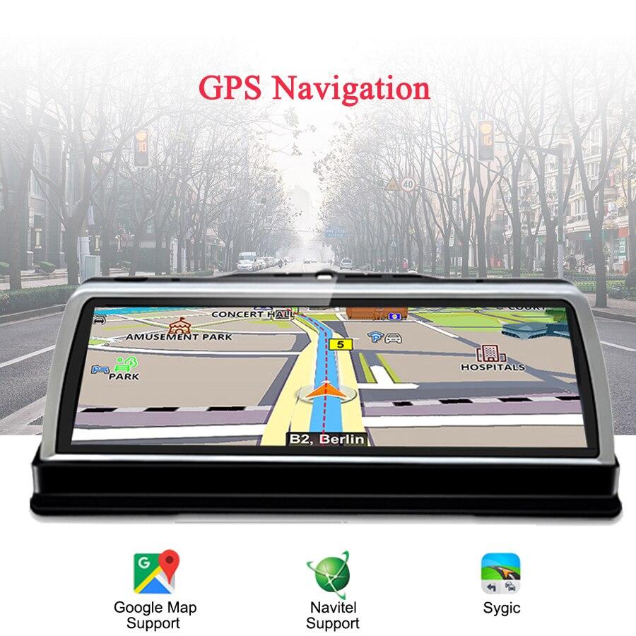 WHEXUNE 2020 nowy 4G Android 5.1 4-kanałowy WIFI kamera samochodowa 10