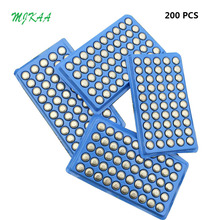 Hot Sale 200pcs LR44 357A A76 303 AG13 SR44SW SP76 L1154 RW82 RW42 Alkaline Button Cell Battery Long Lasting