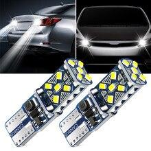 2 шт. T10 W5W супер яркий светодиодный парковочные фары автомобиля для Peugeot 206 308 407 207 3008/2017 2008 208 508 301 306 408 106 107 607 405
