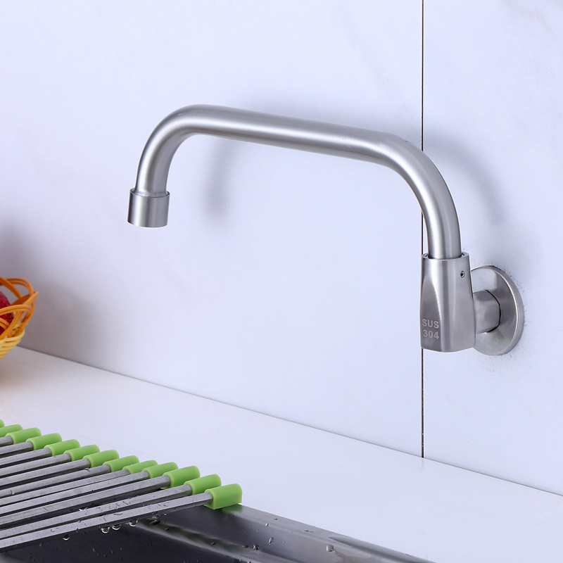 Brushed Semi-automatic Sway Faucet Kitchen Chef For Stove Tap Chef For Stove