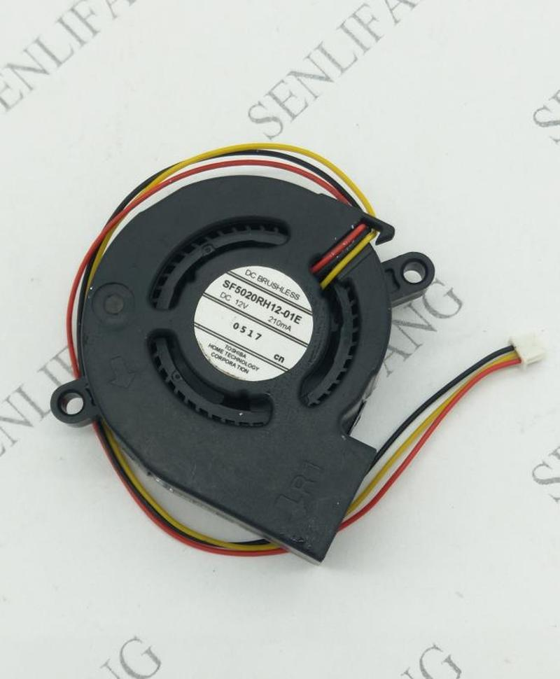 Free Shipping Original EB-C250S SF5020RH12-01E 02E 03E 07E Projector Fan