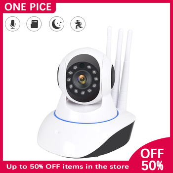 ONE PICE Home Safety IP Camera 1080P HD IR Night Vision Motion detection 360 ° PTZ rotation Two-way voice WIFI Baby monitor A2 babykam ip camera monitor ir night vision 2 way talk pir motion detection alarm wifi camera monitors for ios android max 32g