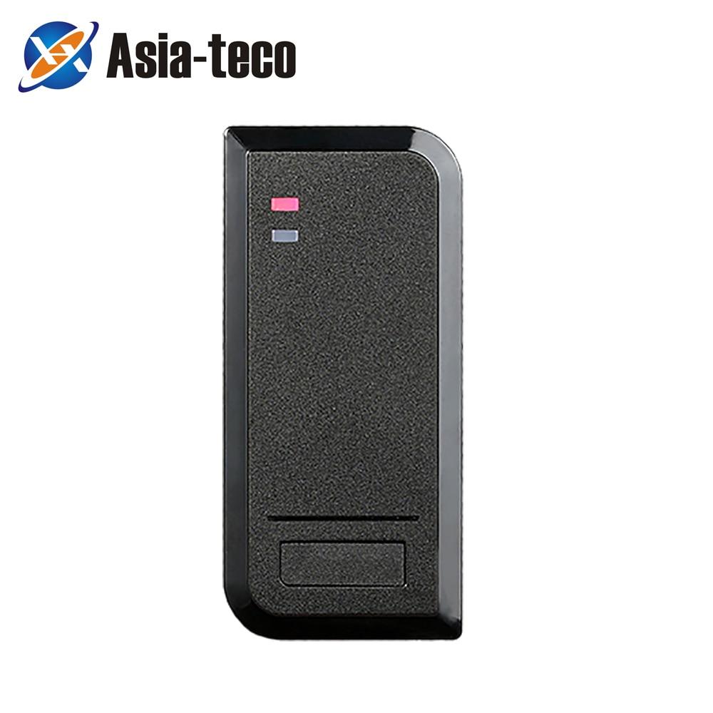 IP66 водонепроницаемый 125 кГц 13,56 МГц RFID считыватель карт доступа для системы контроля доступа система управления работает с EM HID карты 2000 поль...