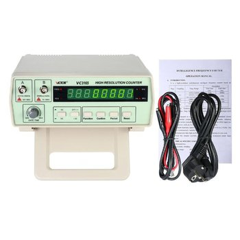 3165 Digital High Precision Radio Frequency Counter Testing Meter 0.01Hz - 2.4GHz Frequency Monitor Counter Tester
