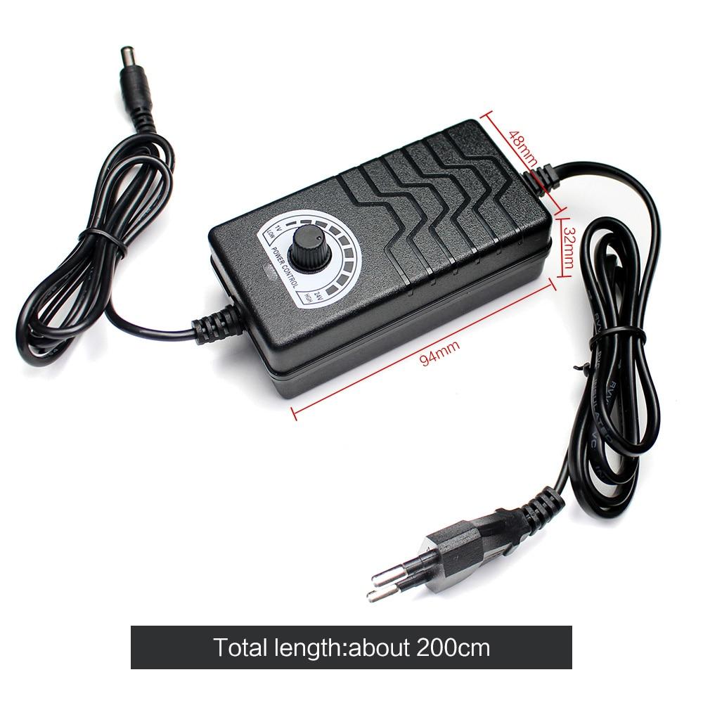 Регулируемый блок питания 12 В 24 в 36 В переменного тока в постоянный ток 3 в 9 в 12 В 24 в 36 в адаптер 1A 2A адаптер питания 220 В в до 3 9 12 24 36 В вольт