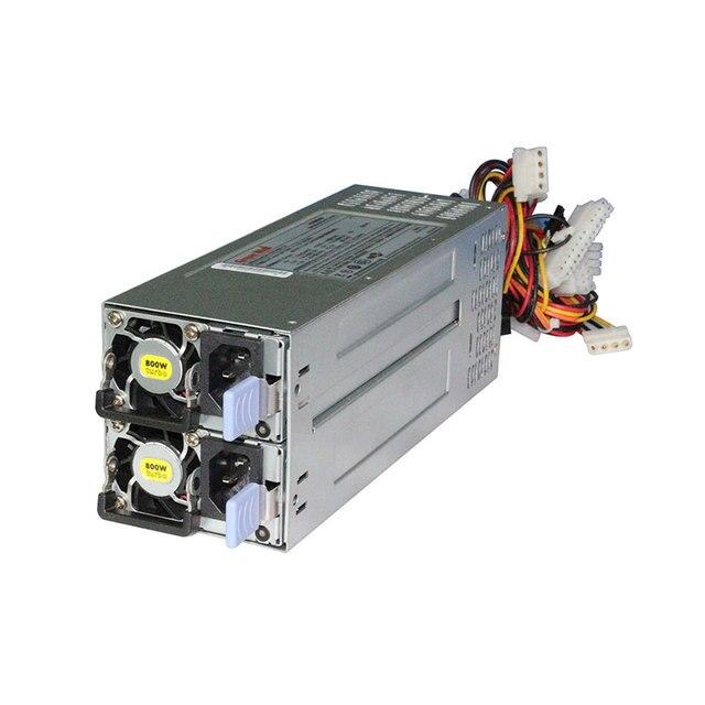 חדש 2U מתלה רכוב כוח יתיר אספקת 800W החלפה חמה שרת מודול PSU GW CRPS800 עבור TOPLOONG 2U 3U 4U אחסון מארז