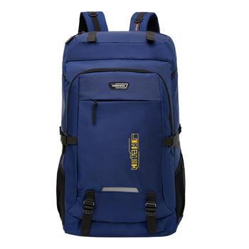 80L i 50L plecak o dużej pojemności terenowa torba turystyczna dla mężczyzn i kobiet odporny na zachlapanie plecak rekreacyjny tanie i dobre opinie NoEnName_Null CN (pochodzenie) FT635 Unisex Breathable Miękka osłona POLIESTER