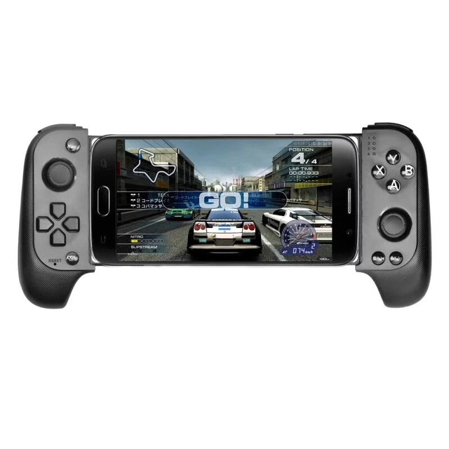 Saitake 7007F Wireless Gamepad Bluetooth Game Controller for Huawei Xiaomi Android Phone TV iPhone Telescopic GamePads Joystick