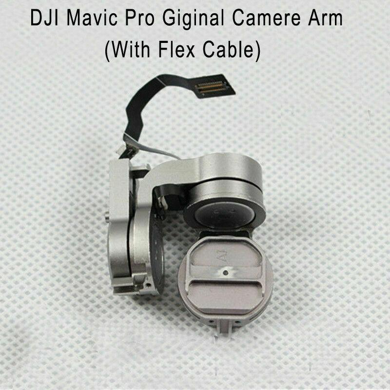 Original Gimbal Camera Arm with Flat Flex Cable Repair Part for DJI Mavic Pro