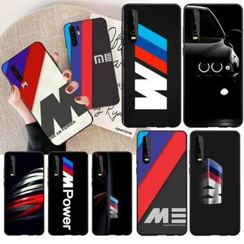 PENGHUWAN Hot Car BMW  Logo DIY Painted Bling Phone Case for Huawei P30 P20 Mate 20 Pro Lite Smart Y9 prime 2019