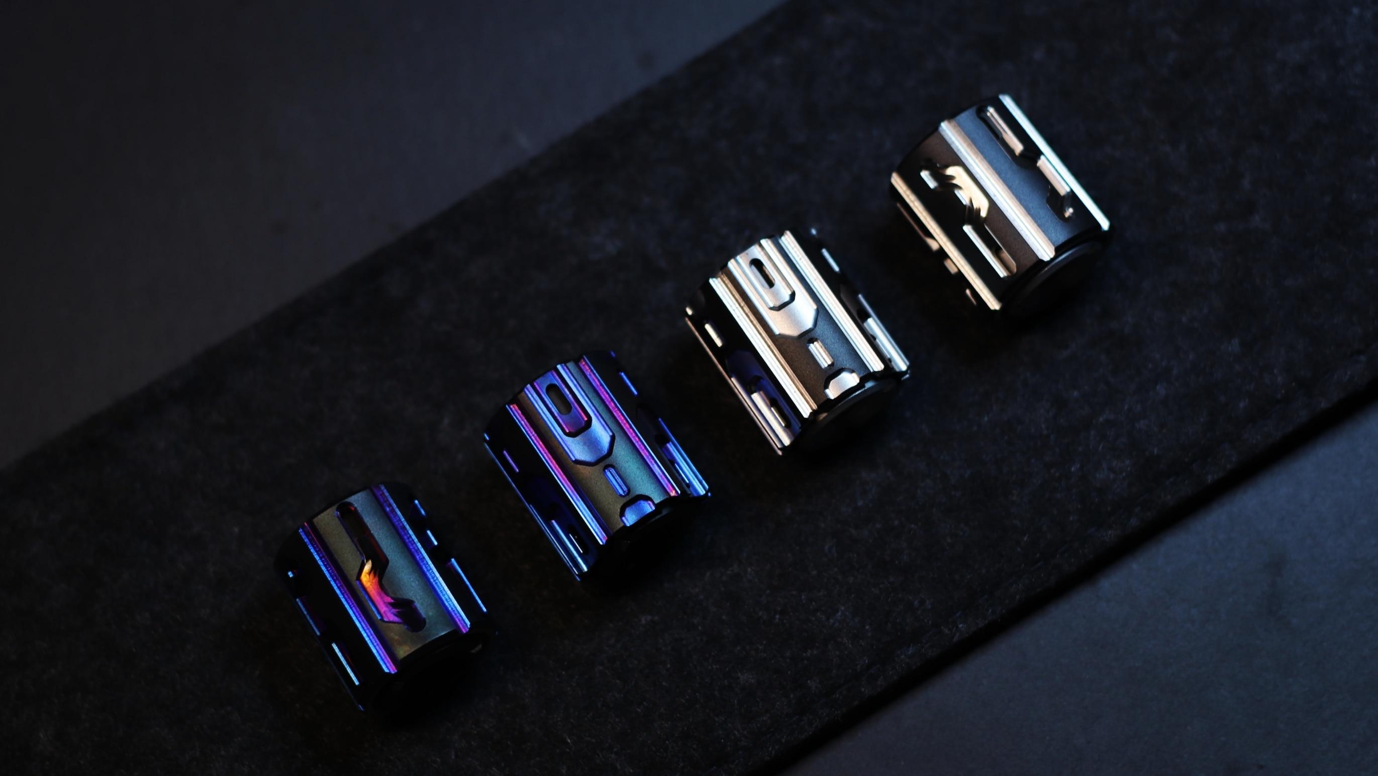 New Dark Matter Hand Spinner Titanium Alloy Fidget Spinner EDC Anti Stress Toy