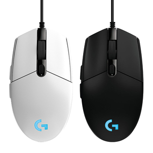Logitech G102 Wired Gaming Gaming Mouse RGB Colorful Programmable High-speed Tracking Home Office Drive Mouse G102 For PUBG
