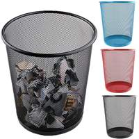 철 쓰레기통 사무실 욕실 주방 쓰레기통 거실 침실 쓰레기통 뚜껑없이 유럽 스타일
