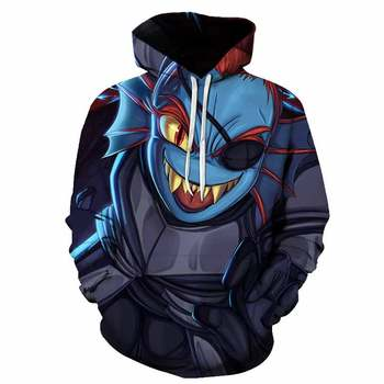 Undertale 3D printed hoodies boys girls kids fashion casual pullover men women cool street wear sweatshirt tops