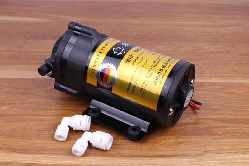 75gpd Diaphragm Pump 24V DC RO Booster Pump High Pressure Vacuum Water Filter Parts For Reverse Osmosis System Increase Pressure