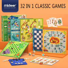 MiDeer 32 in 1 classic games Multi-function board game Strategy Focus Logic thinking training toy Sudoku Table Game Gifts 3Y+