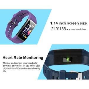 Image 2 - Run Speed R12 สมาร์ท Tracker กิจกรรมฟิตเนสสร้อยข้อมือวัดความดันโลหิต Heart Rate Monitor สำหรับ Honor band 5 miband