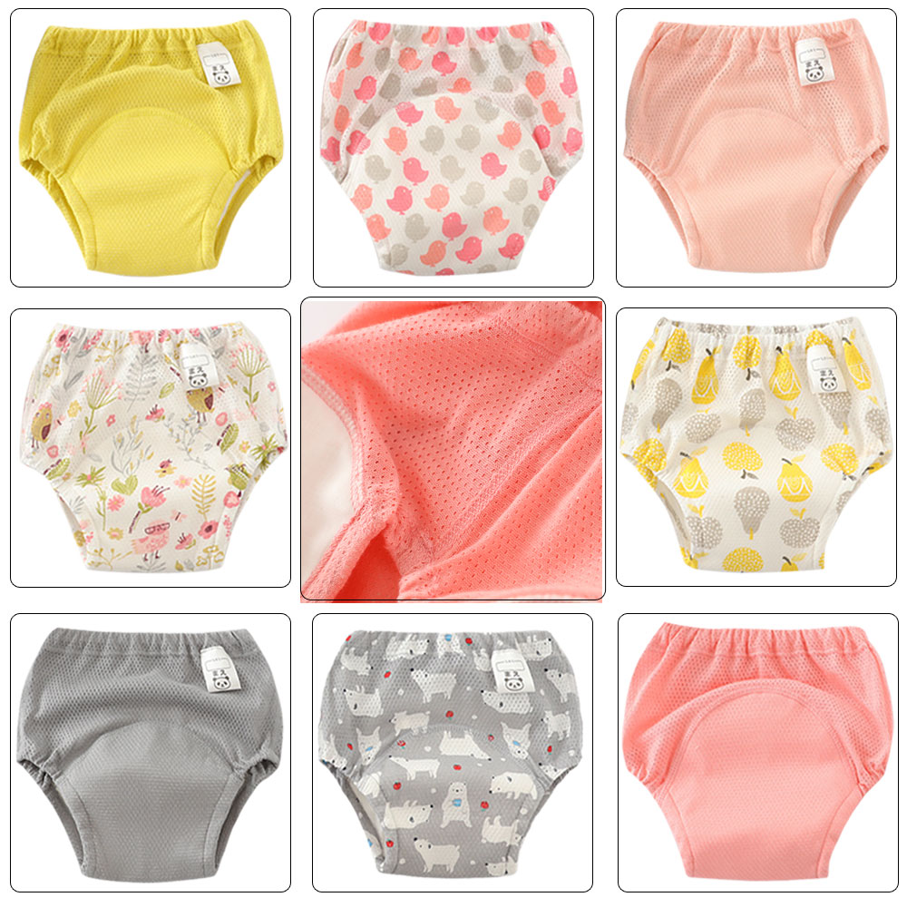 1 Pc New Baby Toddler Kids Children Toilet Potty Training Pants Reusable Underwear For Newborn Diapering And Toilet Training