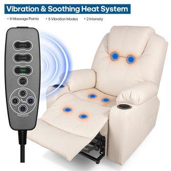 Exclusive electric massage chair massager power lift recliner sofa