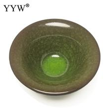 цена на Drinkware Green Ceramics Teacups Chinese Porcelain Tea Bowl for Puer Teacup Master Cup Tea Set Accessories Chinese Gift