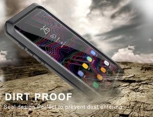 Image 4 - UBERAY Heavy Duty ป้องกัน Doom ARMOR โลหะอลูมิเนียมสำหรับ Huawei P30Pro P30 Mate20pro Mate20 กันกระแทก Capa