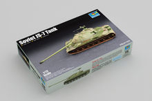 Trumpeter 1/72 07136 Soviet JS-7 Heavy Tank Military Display Toy Plastic Assembly Building Model Kit realts trumpeter model 00384 1 35german e 100 super heavy tank model kit