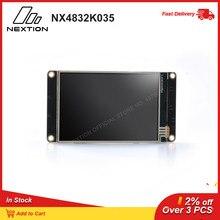 شاشة تعمل باللمس الذكية من Nextion NX4832K035   3.5 HMI شاشة TFT LCD بالألوان الكاملة تدعم محرر NEXTION
