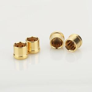 Image 3 - 16 pièces plaqué or RCA bouchon prise de court Circuit connecteur Phono RCA blindage prise jack protéger caches
