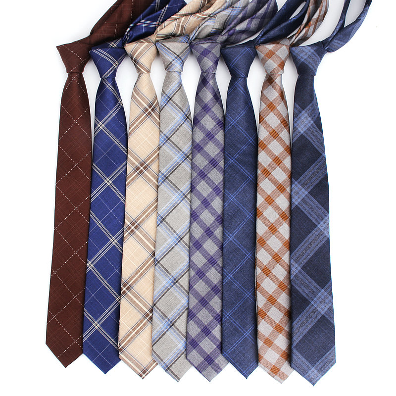 2019 Brand New Men's Fashion Colorful Plaid Check Vintage Neck Ties For Man Adults Male Casual Wedding Groom Necktie Corbatas