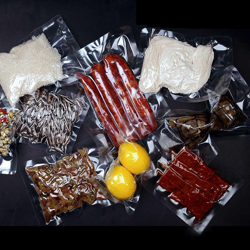 Wysoka temperatura gotowanie próżniowe przezroczyste opakowanie torba termozgrzewalna plastikowa kuchenka mikrofalowa zapisz jedzenie mięso przekąska gotowana zamrażarka