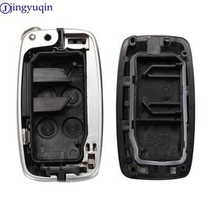 Image 5 - Jingyuqin 5 botão chave habitação para land rover range rover sport lr4 vogue 2010 2013 remoto chaveiro capa