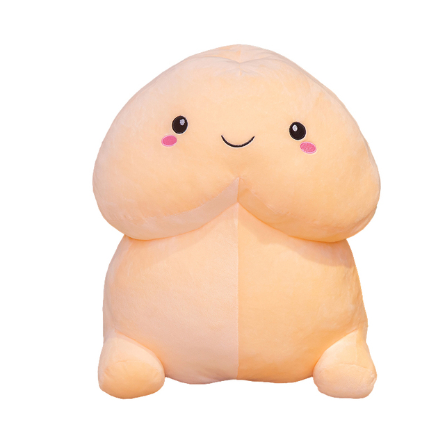 10-50cm New Funny Real Life Penis Plush Toys Pillow Sexy Soft Stuffed Cushion Simulation Lovely Dolls Kawaii Gift for Girlfriend