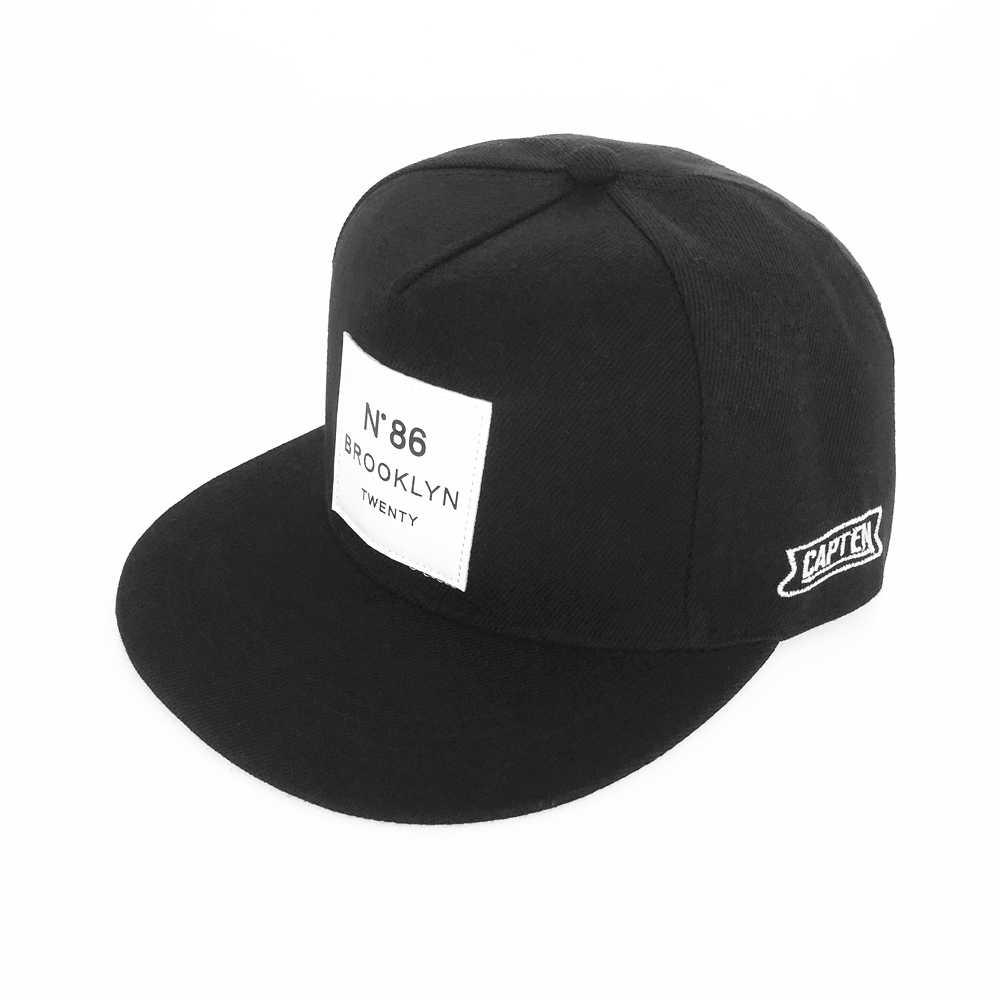 Moda mężczyźni kobiety BROOKLYN litery bawełna regulowana czapka z daszkiem metka ze skóry N86 Hip-Hop czapki kapelusz słońce Unisex czapki z prostym daszkiem