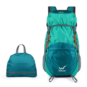 Image 5 - 山折りたたみバックパック軽量バックパックハイキングpackableバックパック観光mochila屋外plegable軍事bagpack 2019